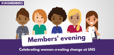 Members' evening IWD banner