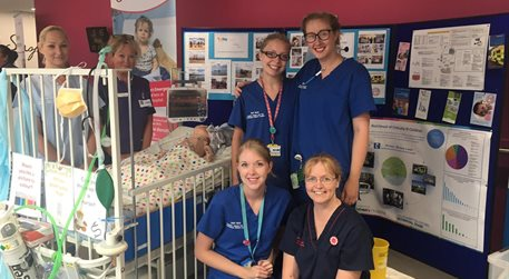 PICU nursing team