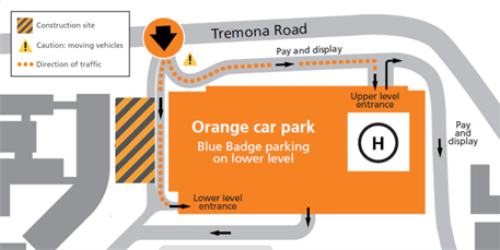 Somers parking closure (from 28 May 2019)