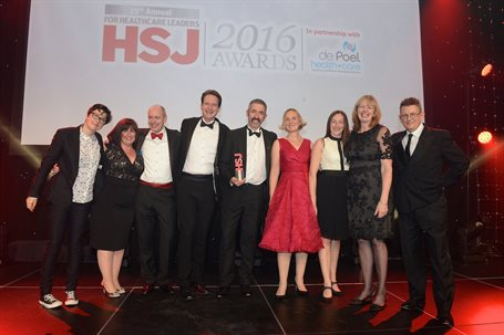Using Technology to Improve Efficiency - HSJ award