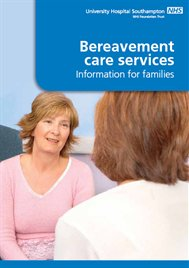 Bereavement care services - information for families