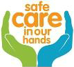 Safe care in our hands logo