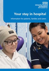Your stay in hospital leaflet cover