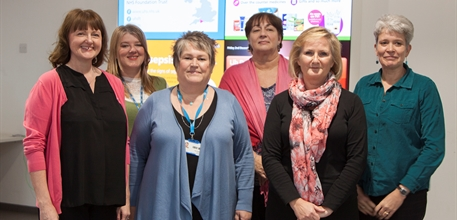 Patient support services team