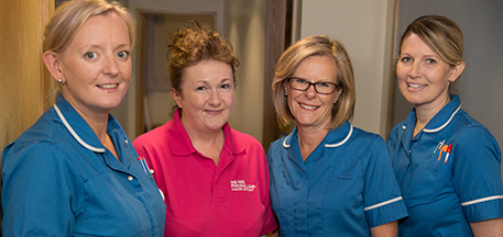 The lymphoma clinical nurse specialist team