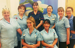 Cardiac outpatient department: nursing staff (photo by Jonathan Upton)