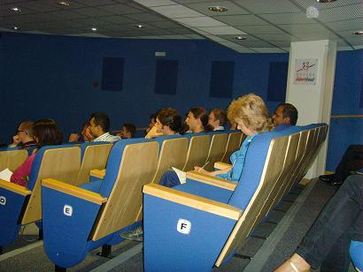 Lecture audience at ACHD network meeting