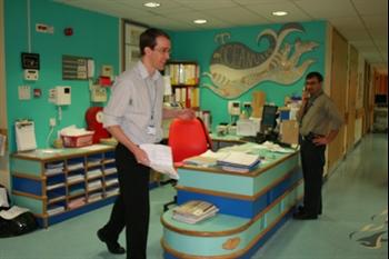 Ocean ward nurses station