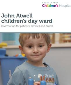 John Atwell day ward patient information cover