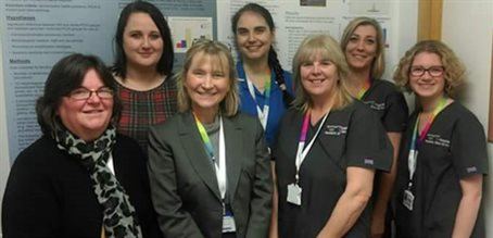 Sleep team - Dr Catherine Hill (centre left)