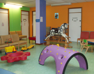 Children's outpatient department waiting room