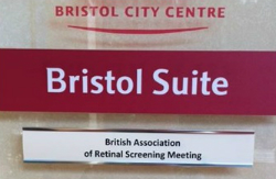 Bristol Suite sign for conference