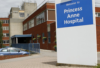 Princess Anne Hospital - main entrance