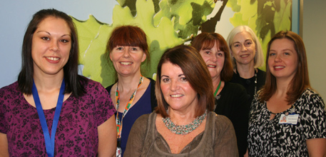The osteoporosis centre team