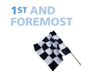 Chequered flag: 1st and foremost