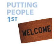 Putting people first: welcome mat