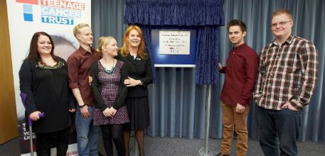 Duchess of York opens Teenage Cancer Trust unit at Southampton