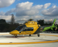 Children's air ambulance