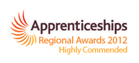 Apprenticeships regional awards 2012 - highly commended